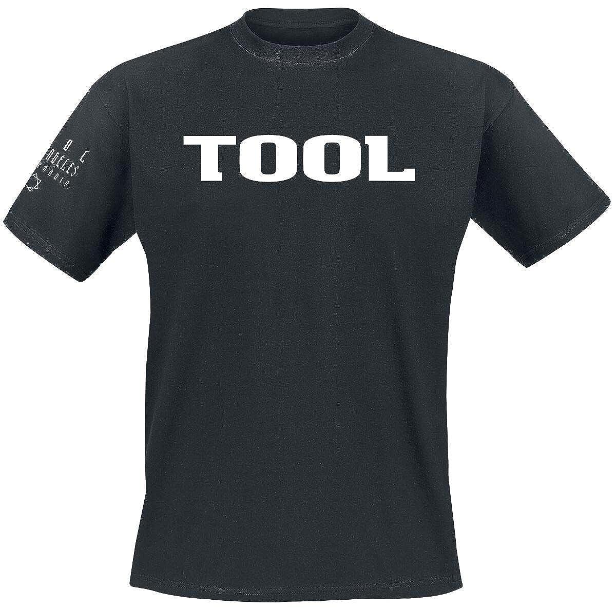 Tool Classic Logo Camiseta Negro
