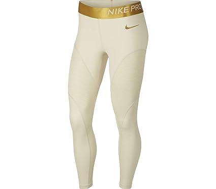 258c4a89c58e76 Amazon.com: NIKE Women's Pro Warm 7/8 Training Tights: Clothing