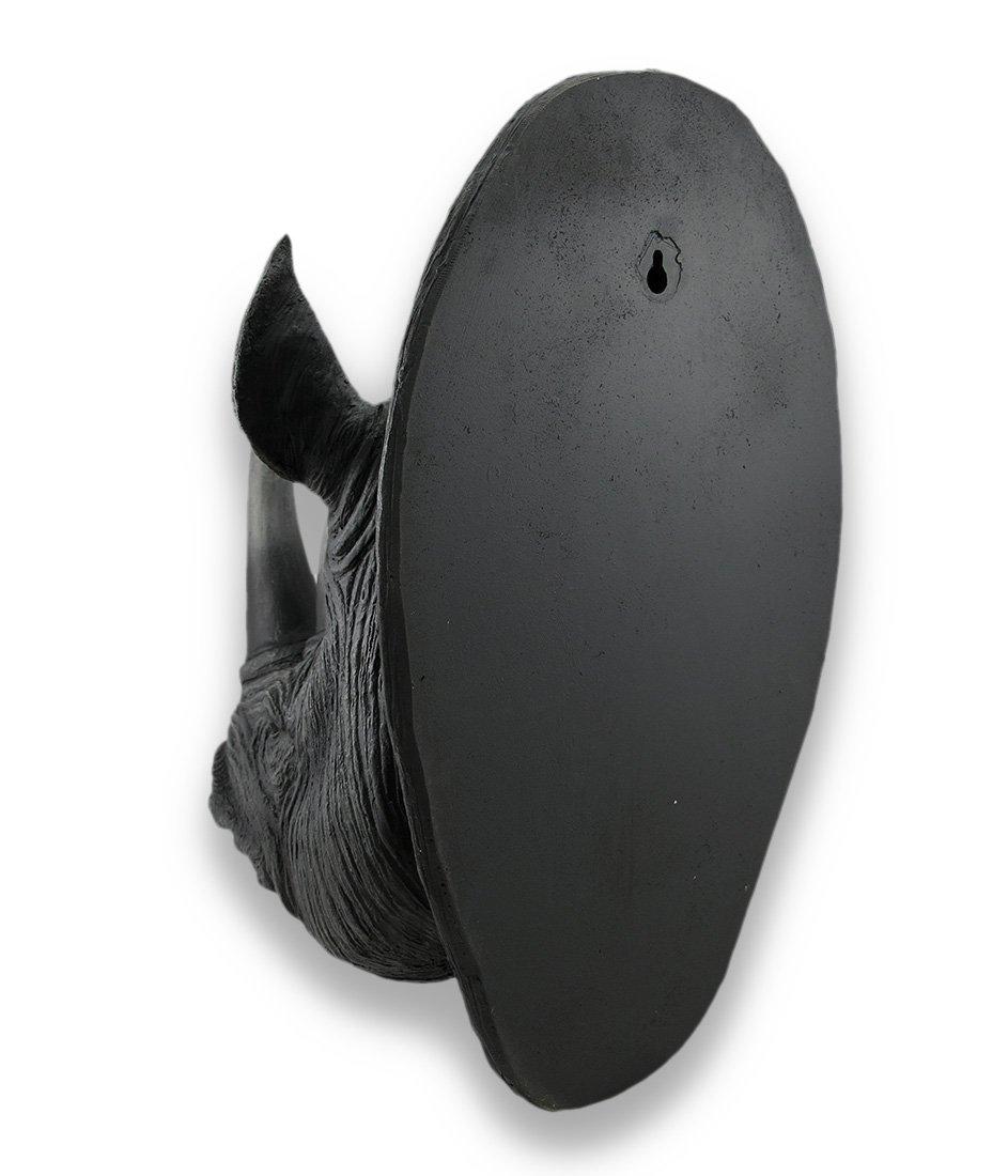 Galleon Things2die4 Realistic Rhinoceros Head Wall