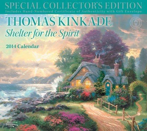 2014 Thomas Kinkade Special Collector's Edition Wall Calendar