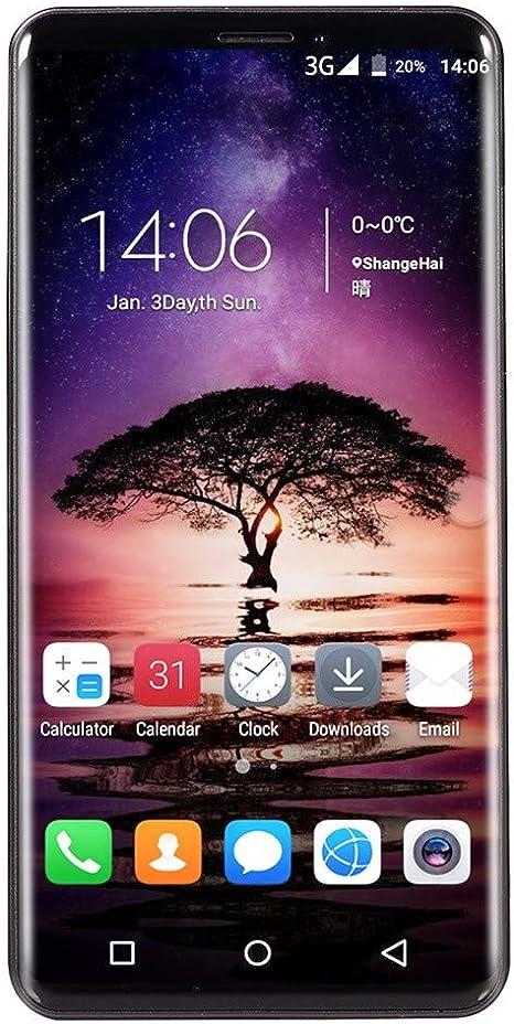 EUCoo Smartphone 5.72 Pollici Dual HDCamera Doppia SIM Android 6.0 Supporto multilingue Telefono Cellulare
