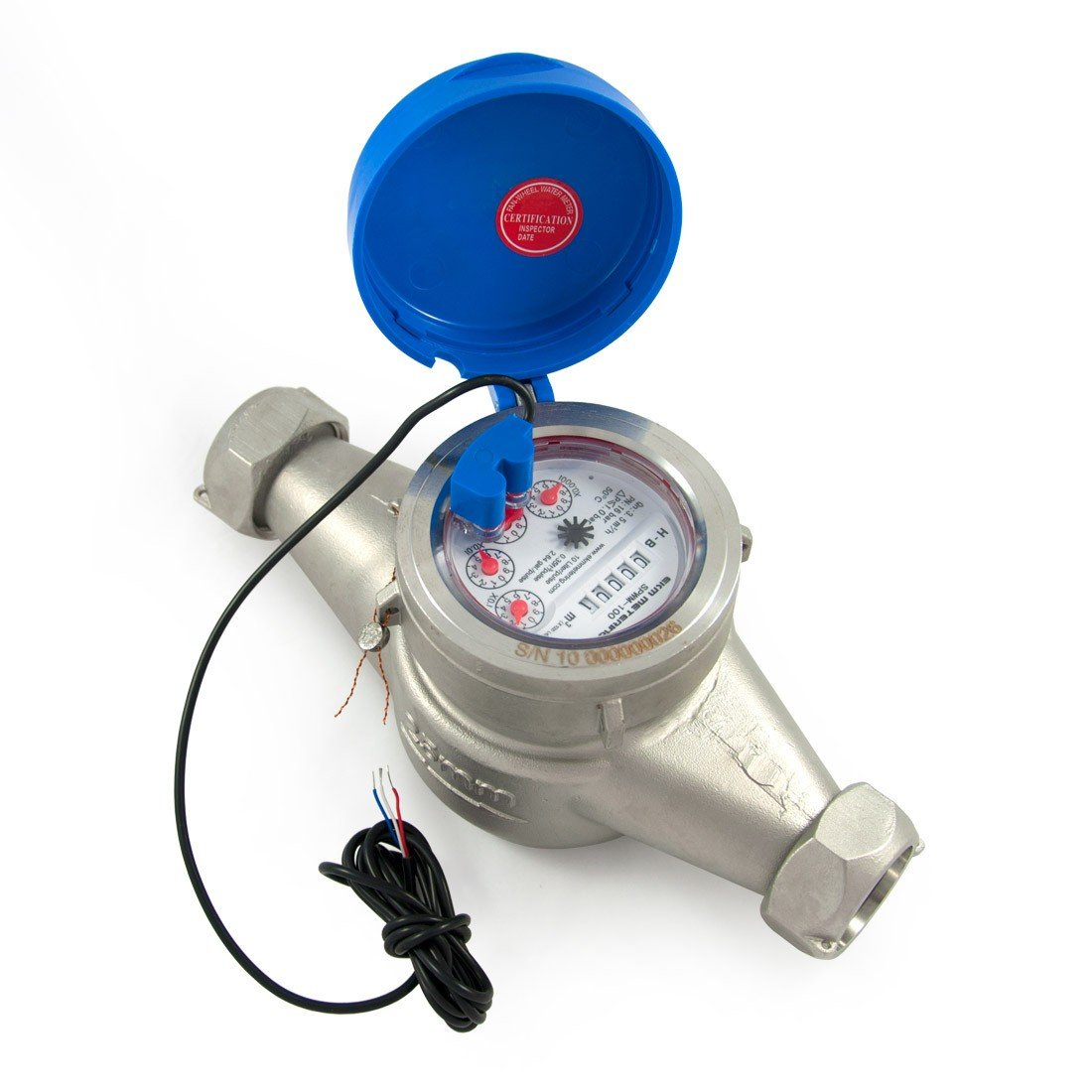 1'' Water Meter - Stainless Steel, Pulse Output