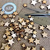Artcuts Mini Mixed Wooden Stars Embellishments for Craft by Artcuts