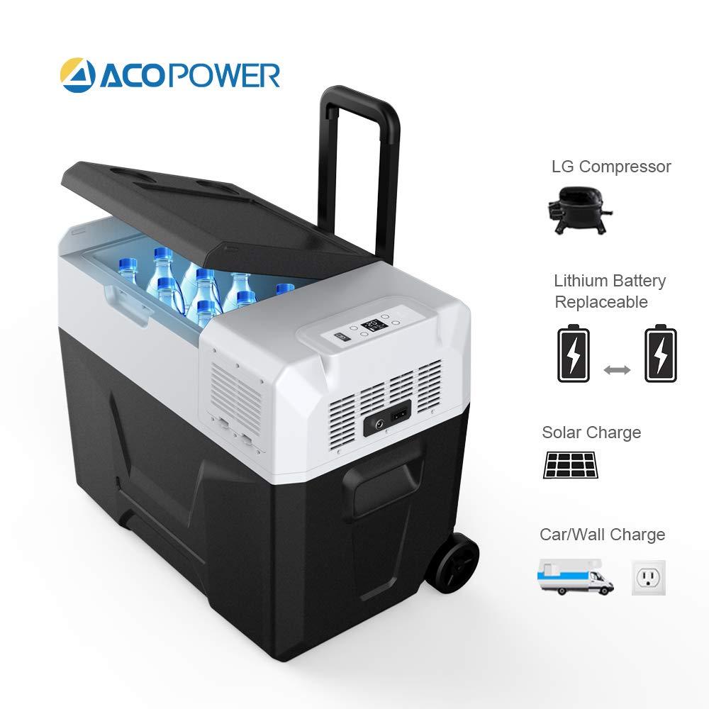 ACOPOWER HY-R40A - Nevera portátil con batería (40 L): Amazon.es ...