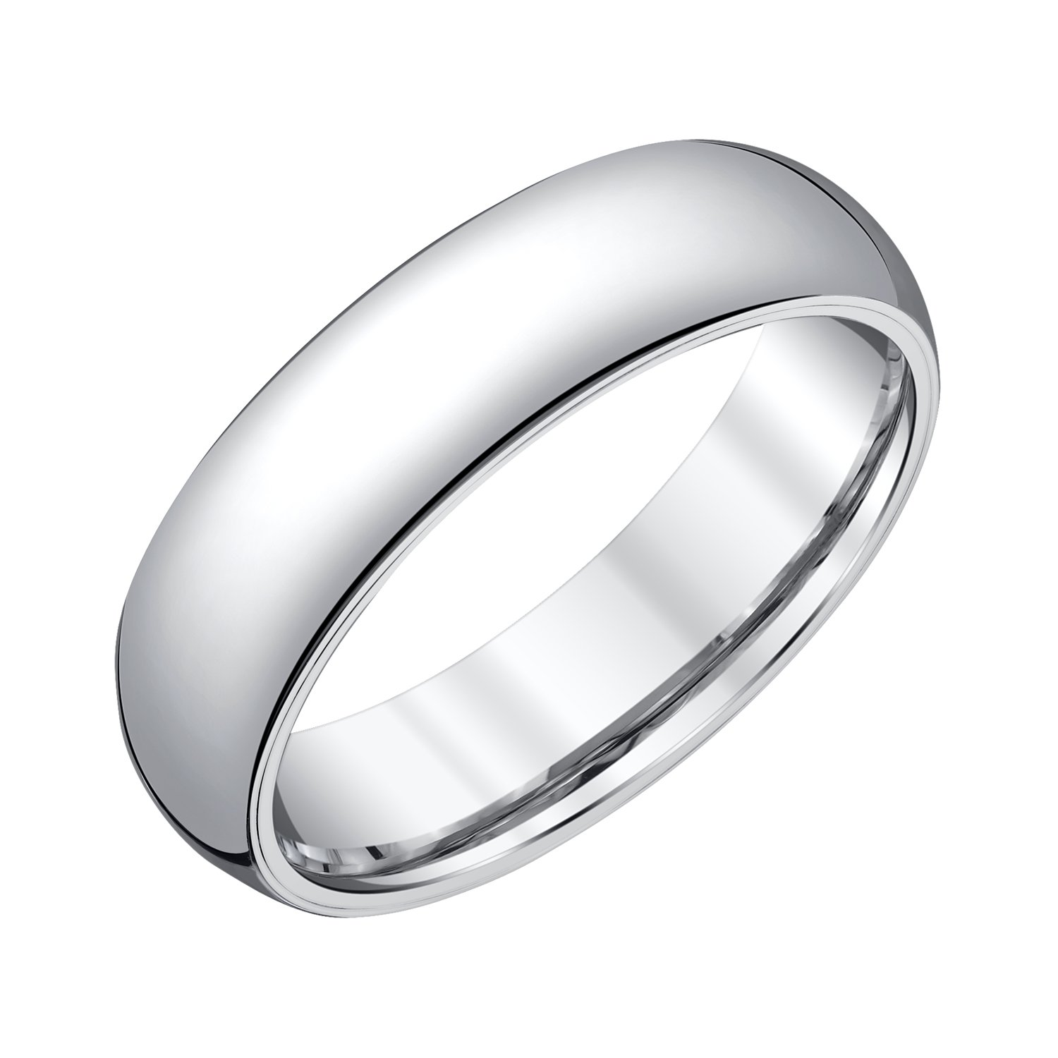 Men 8mm Tungsten Diamond Band (0.05cts),10