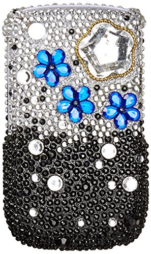 Asmyna BB8520HPCDM198NP Dazzling Luxurious Bling Case for BlackBerry Curve 8520/8530/9300/9330 - 1 Pack - Retail Packaging - Cloudy Night
