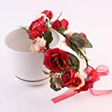 Sunfei Fashion Baby Kids Handmade Rose Flower