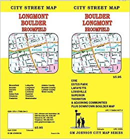 Boulder / Estes Park / Loveland, CO Street Map: GM Johnson ...
