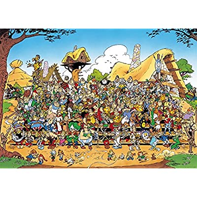 Ravensburger Asterix: Family Portrait Jigsaw Puzzle (1000 Piece): Unknown.: Toys & Games