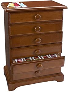 Craftways 6-Drawer Floss Cabinet Accessory