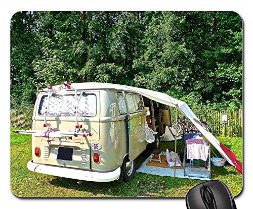 Mouse Pads - Camping Combi Van Retro Volkswagen Touring ()