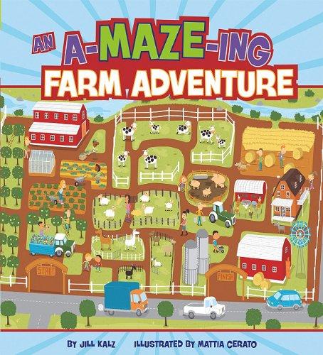 An A-MAZE-ing Farm Adventure (A-MAZE-ing Adventures)