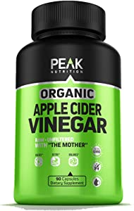 Apple Cider Vinegar Capsules for Weight Loss - Made in USA - Advanced 1500 mg - Best Supplement for Healthy Weight Loss, Diet, Detox, Immune, Digestion and Energy Boost