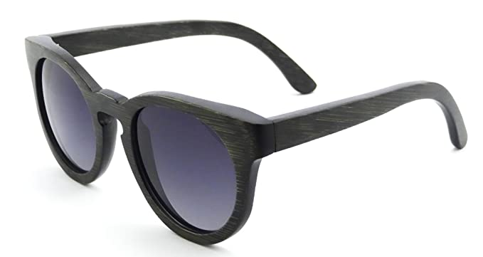 1deb0474ded Handmade Wood Frame Sunglasses Retro Vintage Wooden Glasses Polarized with  Bamboo Case- Z6011(bamboo