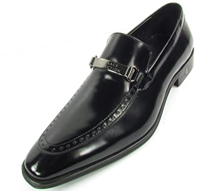 Versace Collection Penny Loafers Homme Chaussures Loafer Cuir (Noir ... ea7c172924f