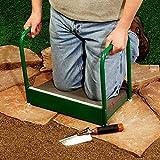 Heavy Duty Garden Kneeler for Home Garden, Steel Best Gardening Kneeler Seat Bed Mat, Gardening Kneeler Bench with Handles & E-Book