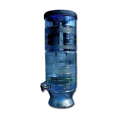 berkey light bl4x4-bb water filtration system with 4 black filter ...