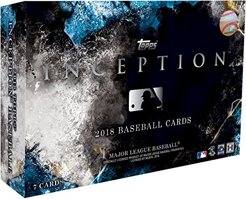2018 Topps Inception Baseball Hobby Edition Factory Sealed 1 Pack Box - Baseball Wax Packs by Sports Memorabilia