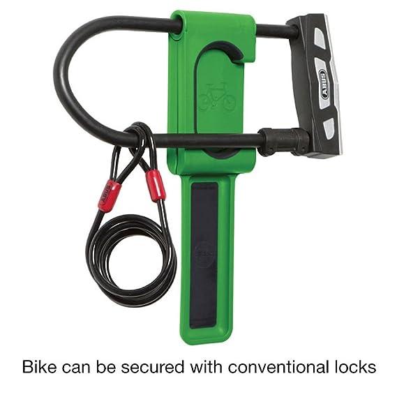 Cycloc Endo Indoor Bicycle Holder Montado en Pared Blanco - Soporte de Bicicleta: Amazon.es: Deportes y aire libre