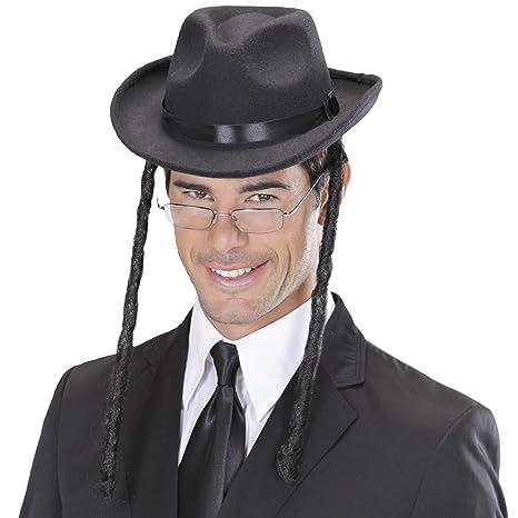 Amakando Chapeau de Rabbin avec des Tresses