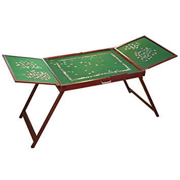 bits and pieces furniture. Bits And Pieces Wooden Fold-And-Go Jigsaw Table-Collapsible Puzzle Table Furniture