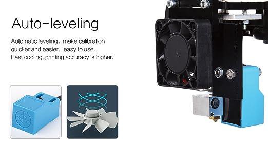 FLSUN Impresoras 3D Plus Tamaño Prusa i3 Diy Kit 300x300x420mm ...