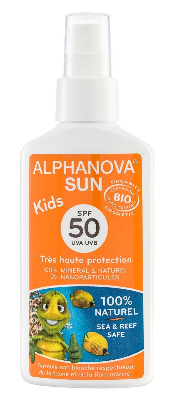 Organic Sun Care For Kids SPF 50 (125G) by Alphanova Kids
