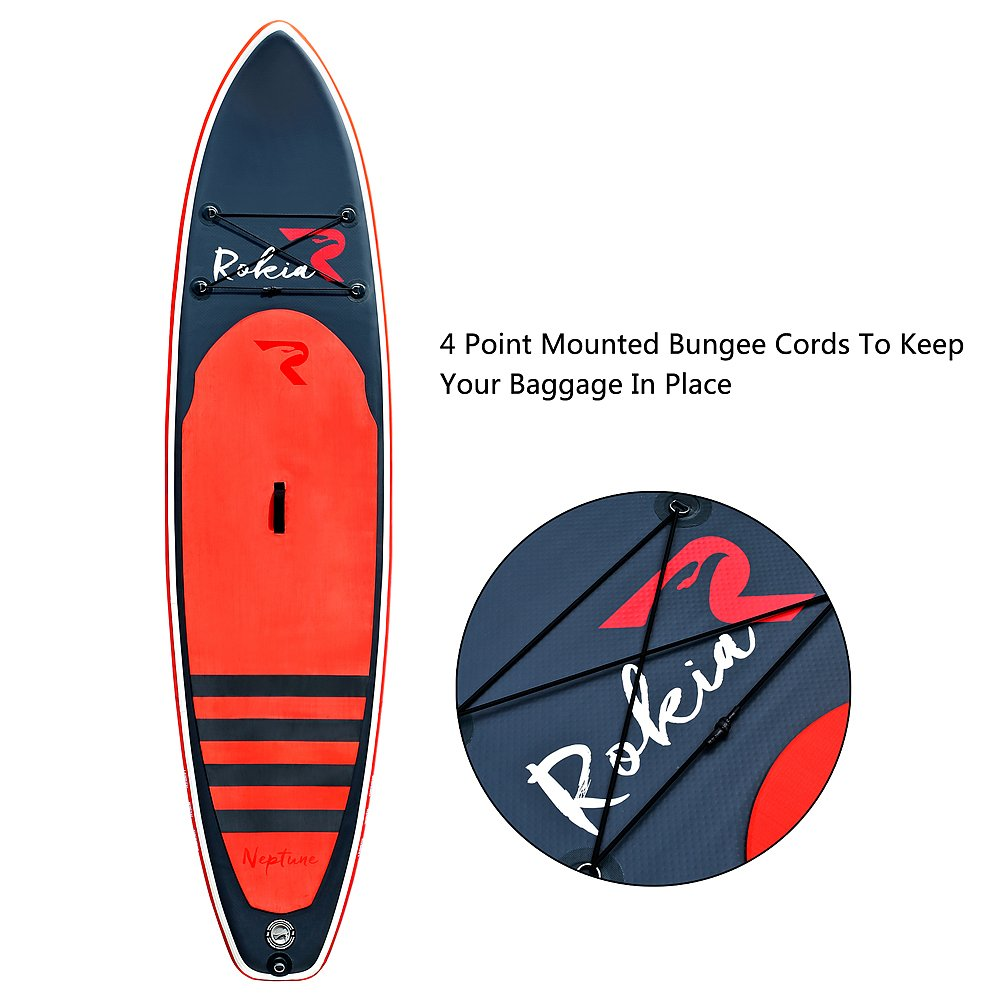 Rokia R Inflatable Stand Up Paddleboard 11 6 Thick Premium SUP for All Skill Levels