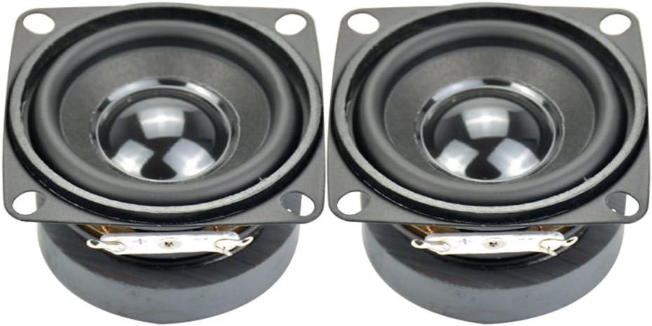 AIYIMA 2pcs Subwoofer 2 inch 4ohm 5w Full Range Speaker Mini DIY Audio Subwoofer Loudspeaker