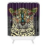 Deny Designs Sharon Turner Leopard Queen Shower Curtain , 69'' x 90''