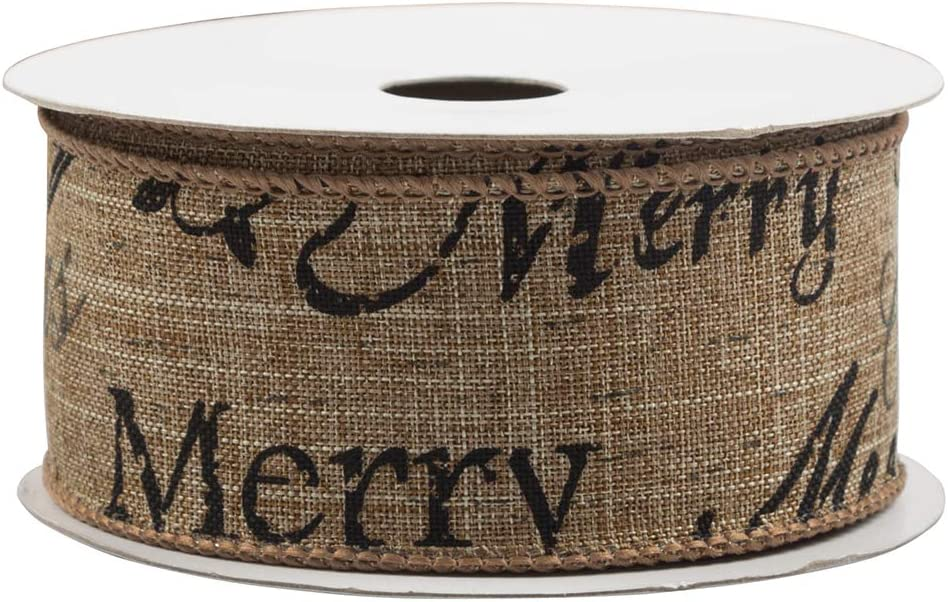 JAM PAPER Wire Edged Ribbon Silver 1 1//2 x 3 Yards Sold Individually