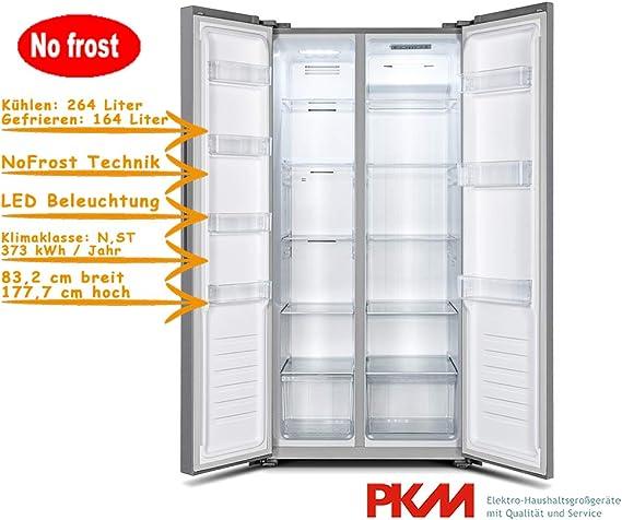 PKM Frigorífico congelador Sidy by Side No Frost 428 litros ...