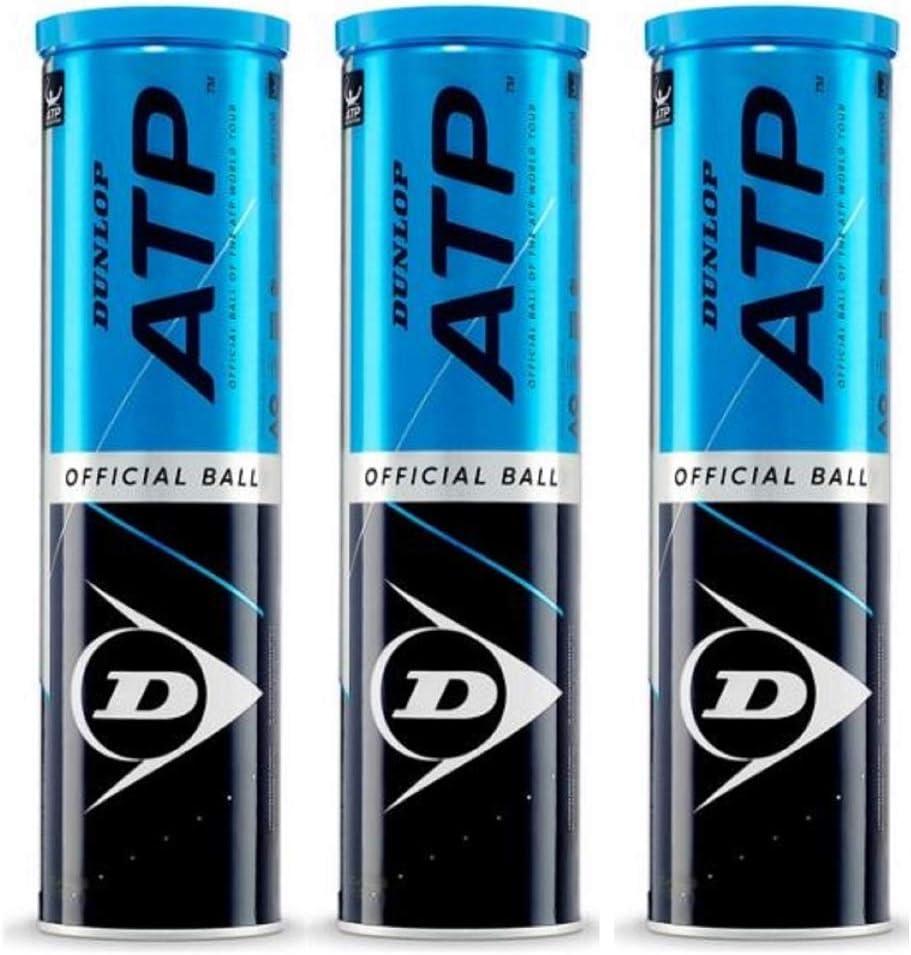 Dunlop Pelotas Tenis ATP Championship Pack 12 Pelotas (3 x4)