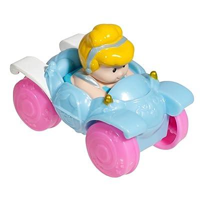 Fisher-Price Little People Disney Wheelies Cinderella: Toys & Games