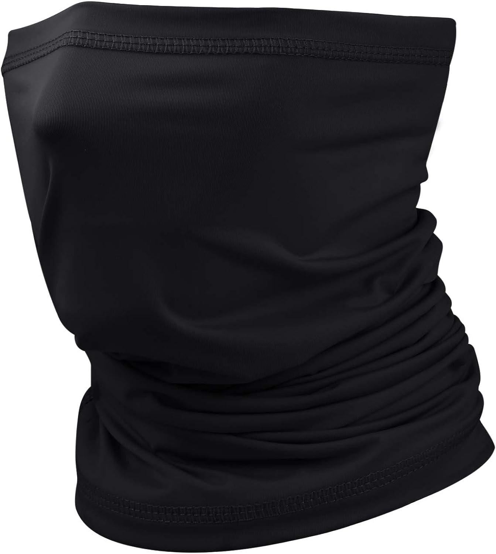 Ice Silk Cooling Neck Gaiter Bandana Mask Face Scarf Balaclava for Men & Women