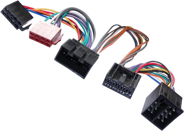 Aerzetix Cavo connettore adattatore fascio vivavoce mani libere per autoradio .