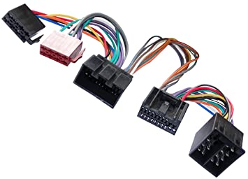 Adaptador cable enchufe ISO para autoradio de Jaguar S-Type X-Type