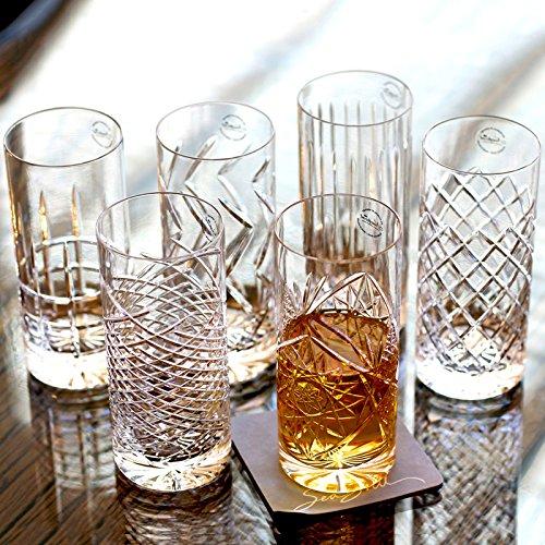 NEWPORT Vasos de Whisky/Copas de Cristal/de Vasos Tumbler/JFK High ...