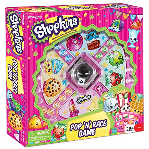 Shopkins Pop N Race Game    Classic Game With Shopkins Theme
