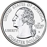 2009 D Complete Set of all 6 DC & Territories Quarters Uncirculated