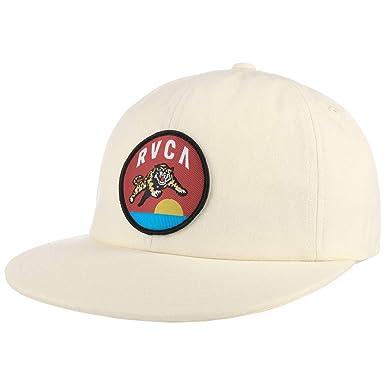 RVCA Gorra Snapback Jumping Tiger de Beisbol Baseball (Talla única ...