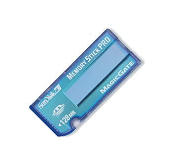 Sandisk Memory Stick Pro Blue 128Mb memoria flash 0,125 GB ...