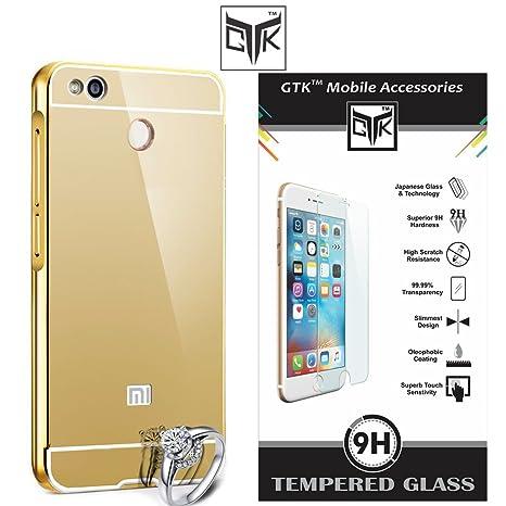 buy popular d2ddb 658ef Redmi 4 Back Cover + Tempered Glass - TheGiftKart: Amazon.in ...