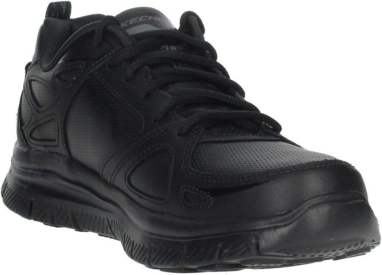 Skechers Men's Flex Advantage 51461-bbk Low-Top Sneakers Black Black 51461 Bbk