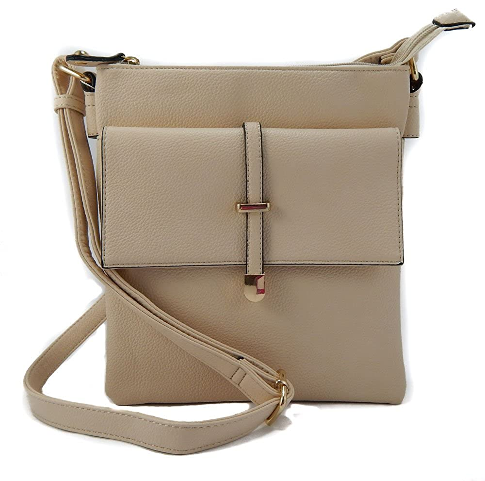 Bone The Joy Collection Crossbody Front Flap Bag with Adjustable Strap