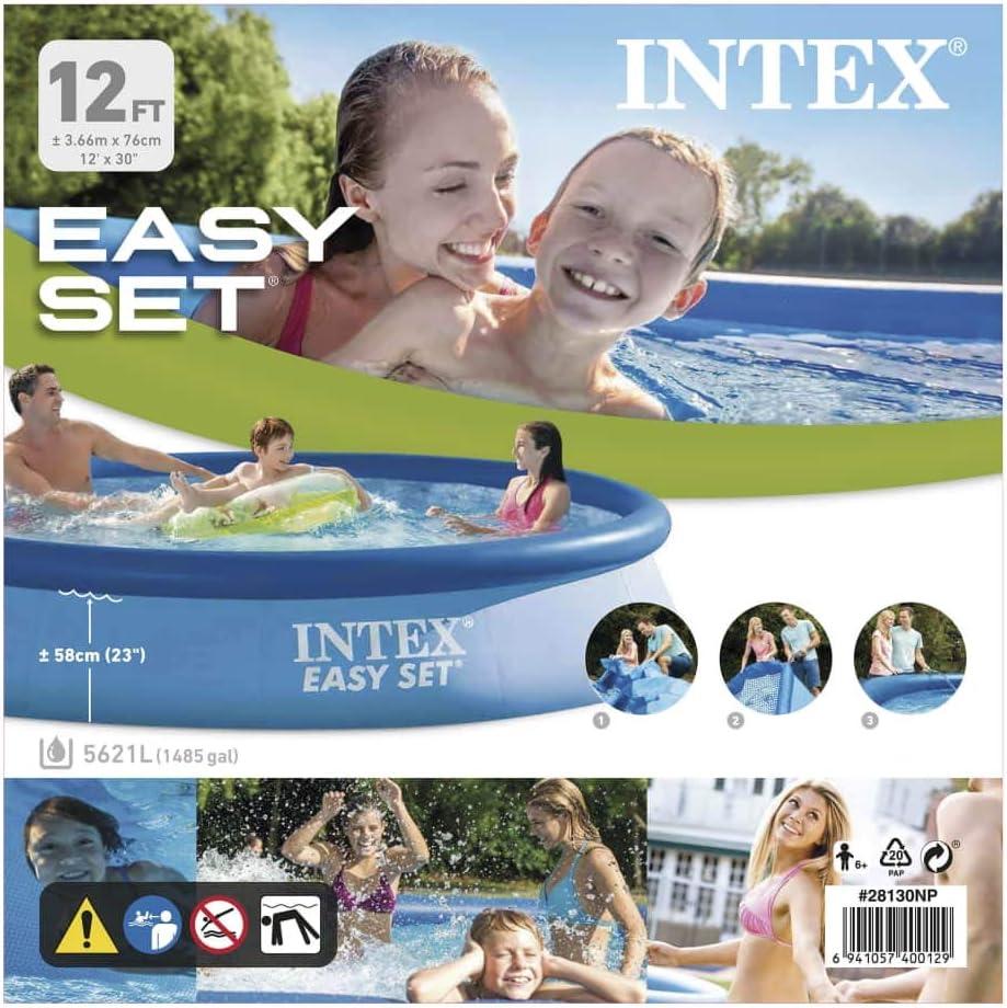 Namotu Intex Piscina Easy Set 366 x 76 cm 28130NP