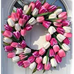 Sunsun99-Spring-Indulgence-Pink-and-White-Tulip-Wreath-Indoor-and-Outdoor-Wreath-Front