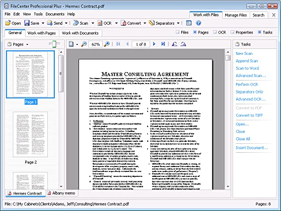 FileCenter Professional 9 [Download]
