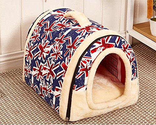 Pet Supplies Soft and Cozy Cotton Indoor Outdoor Portable Pet House Pet Bed (S/M) Review