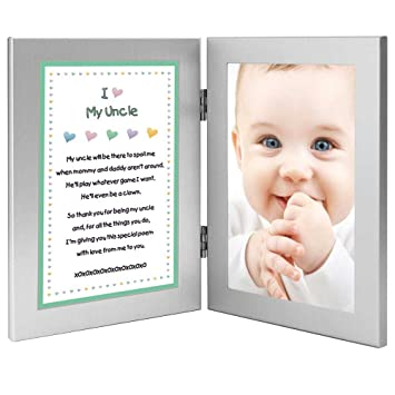 Amazon Birthday Gift For Uncle Sweet Poem From Niece Or Nephew Add Photo Baby